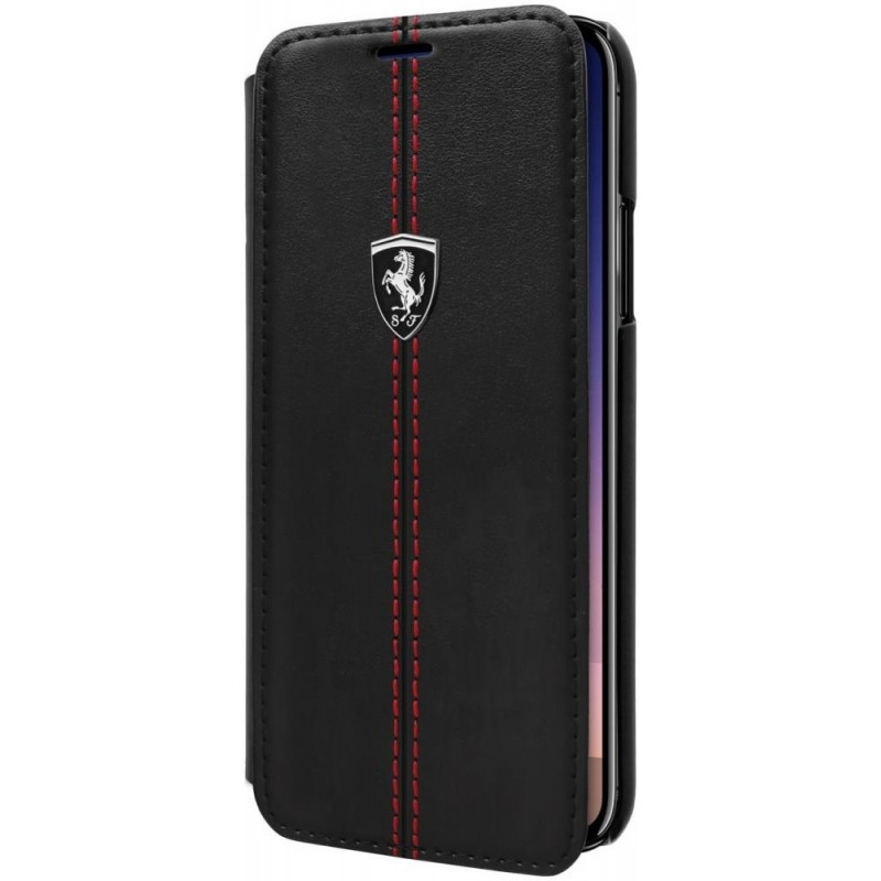 Чехол Ferrari IPhone X Ferrari Heritage LEATHER HARD CASE W