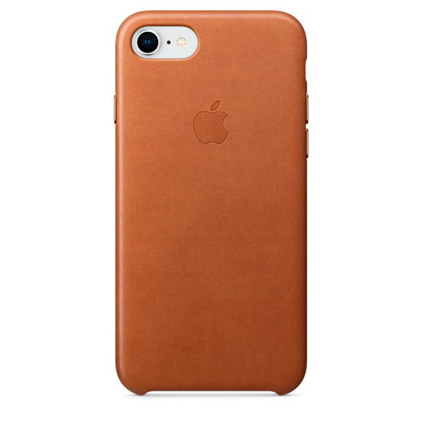 Чехол IPhone 8/7 Leather Case MQH72ZM/A Saddle Brown