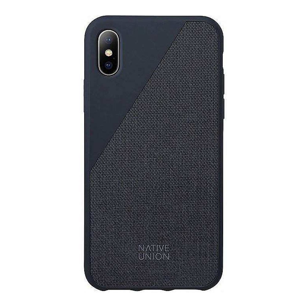 Чехол Native Union IPhone Xs Max CLIC CANVAS синий