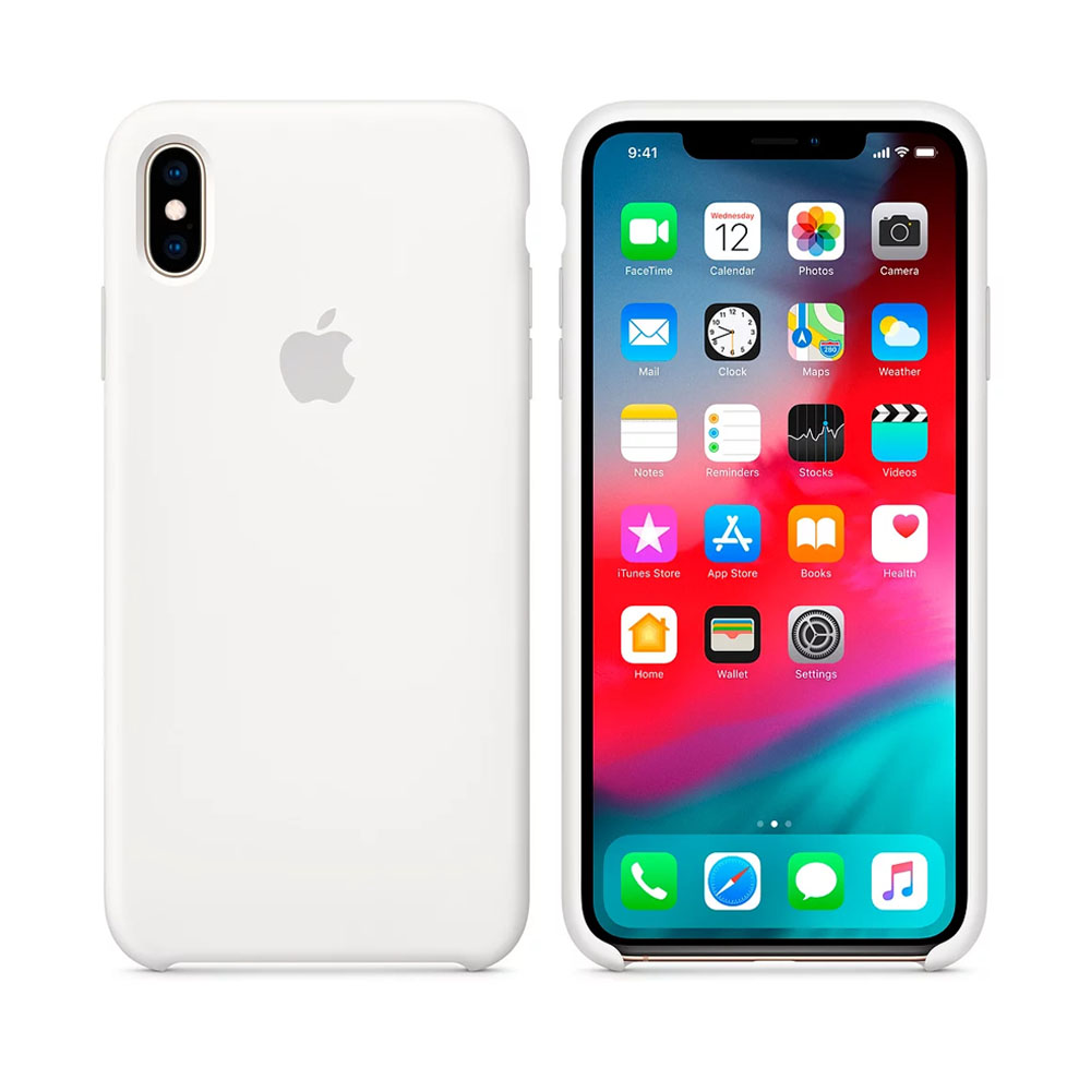 Чехол IPhone XS Max Silicon Case MRWF2ZM/A White