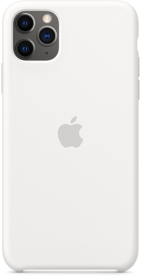 Чехол IPhone 11 Pro Max Silicon Case MWYX2ZM/A White